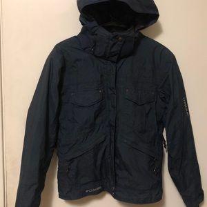 Columbia Titanium Winter Jacket Navy Blue